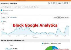 Chặn Google Analytics tracking thế nào?