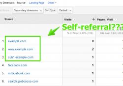 Nguồn truy cập tự giới thiệu (self-referral): nguyên nhân và cách xử lý trong Google Analytics