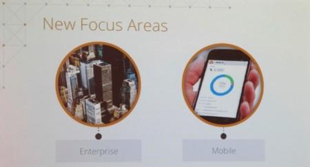 Hai lĩnh vực được GA tập trung phát triển: doanh nghiệp và di động.