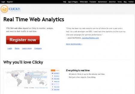 Phần mềm Clicky